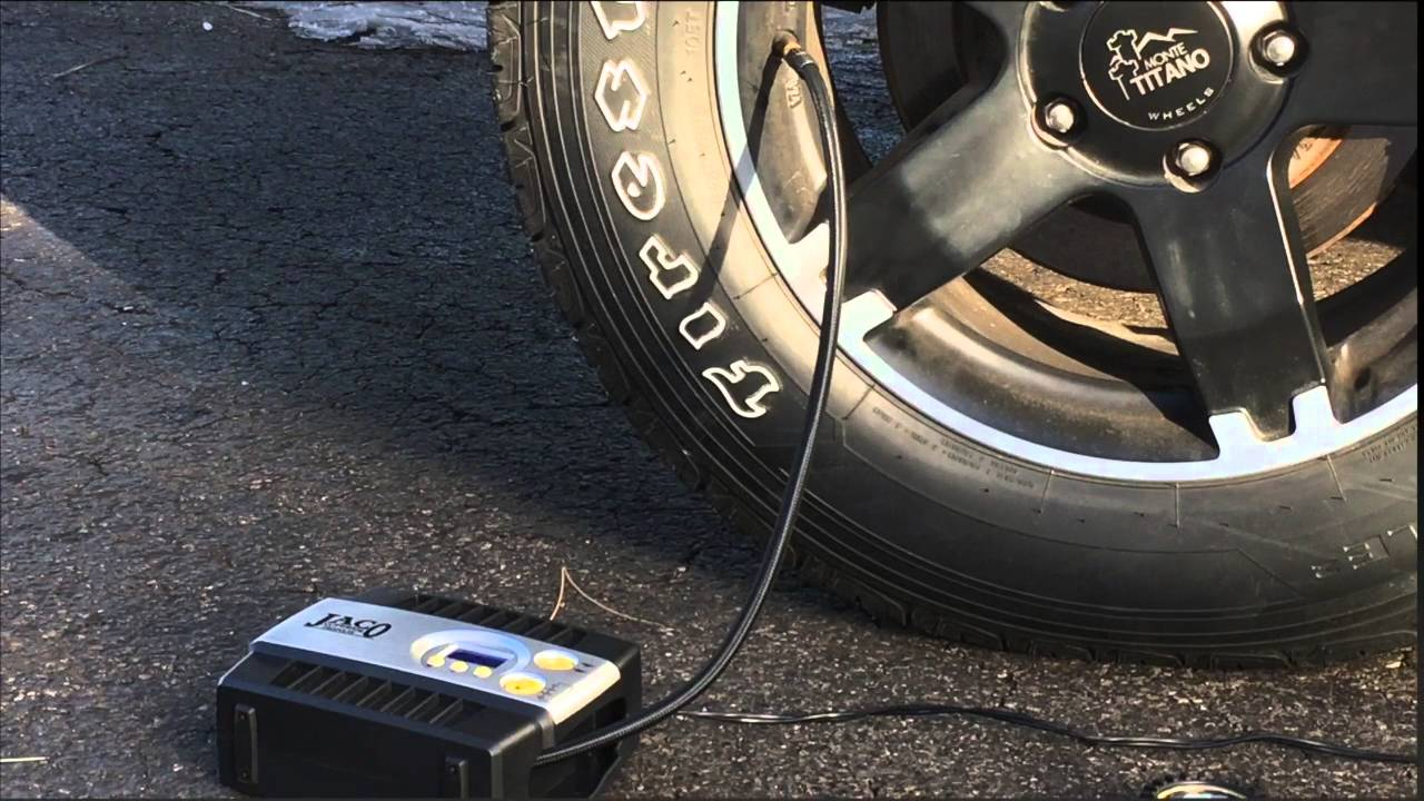 How to Use an Air Compressor to Fill a Tire