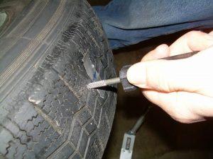 how do you fix a flat tire