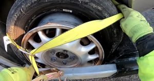 how to change a four wheeler tire
