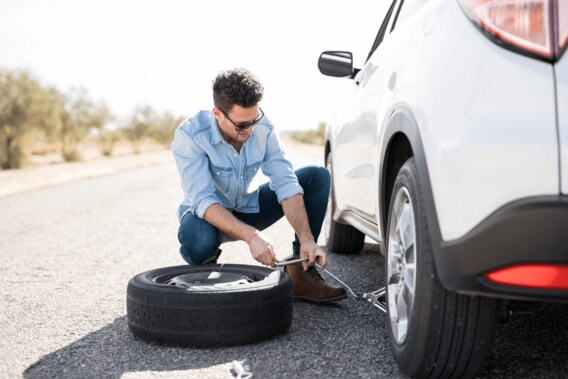 How to Change a VW Jetta Tire