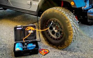 how to inflate car tires with air compressor