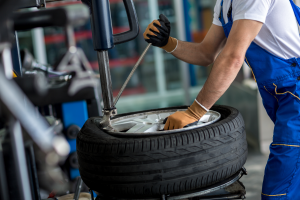 how to remove a rusted on tire rim