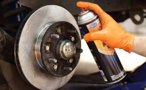 how to check brake pads without removing tire