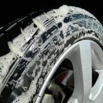 wash the tires