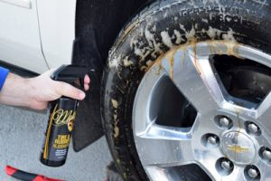 how to remove asphalt from tires
