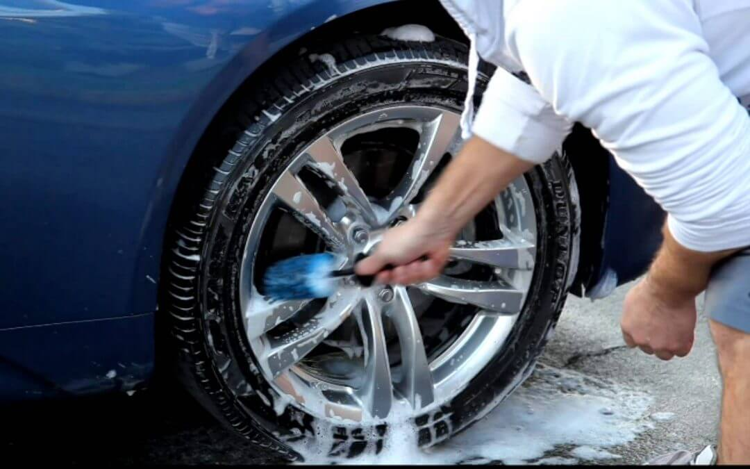 How to Clean Tires and Rims