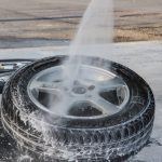 how to clean rims and tires
