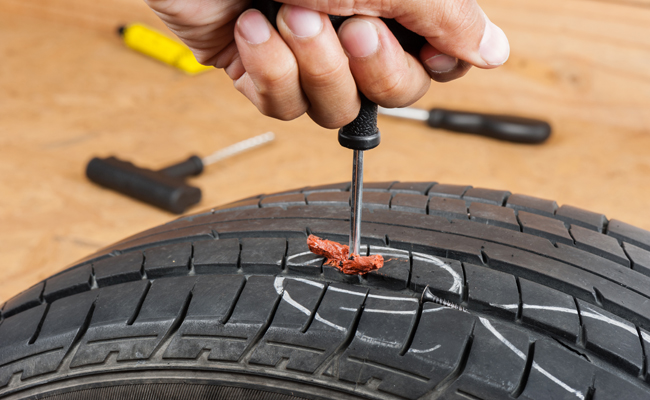 How Do You Patch a Tire