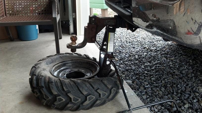 How to Break Bead on ATV Tire