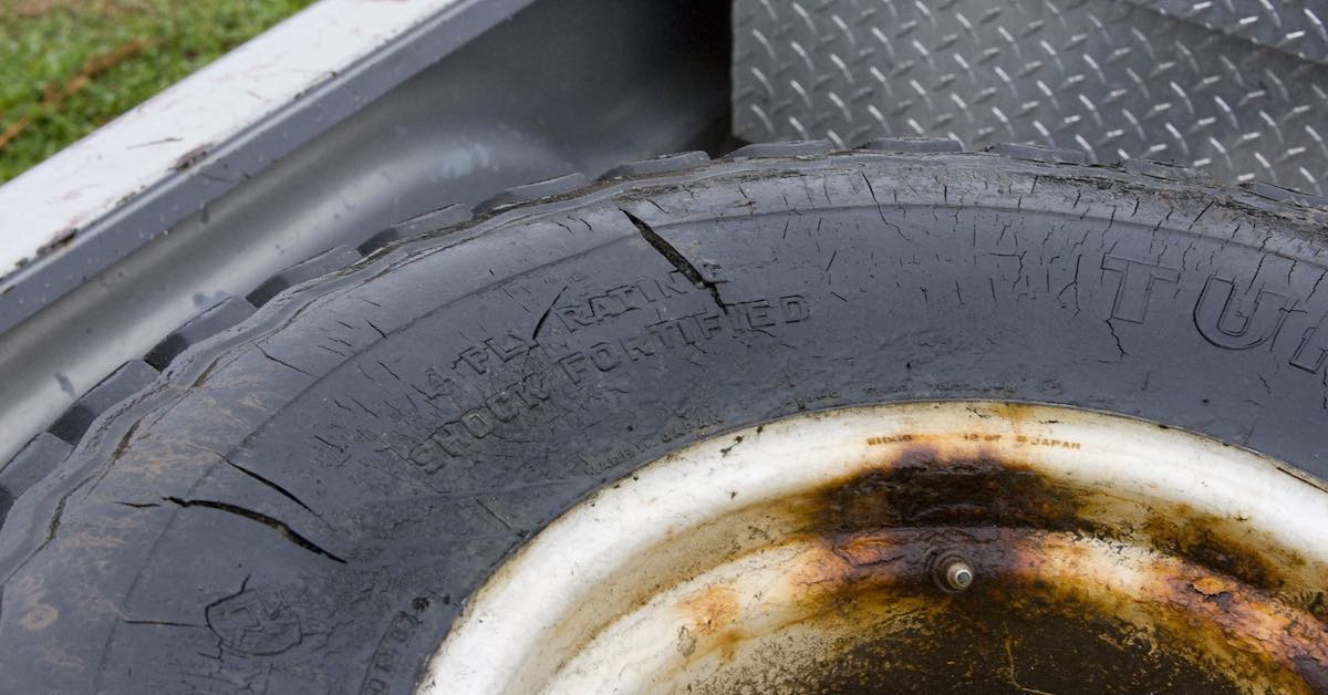 How to Fix Dry Rotted Tires