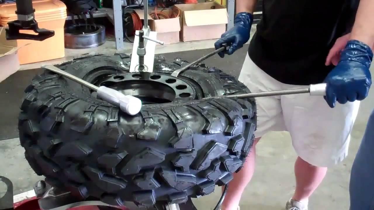 How to Mount ATV Tires