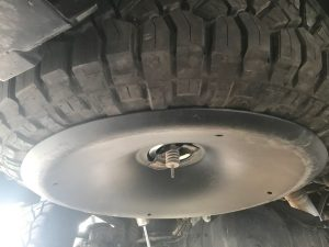 Reinstalling the Tire