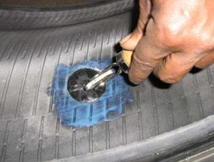 are patched tires safe
