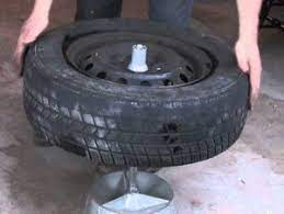 how to balance your own tires without a machine