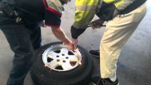 how to bead a tire