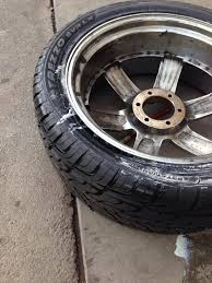 how to bead a tire on the rim