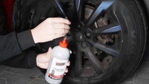 how to break bead on tire