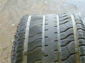 how to check for flat spots on tires