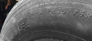 how to fix dry rot tires