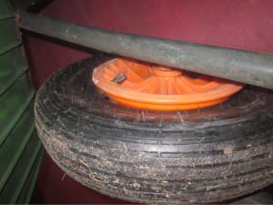 how to install a tire on a rim