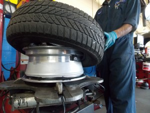 how to install tires on rims
