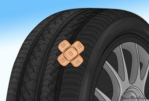 how to patch a hole in a tire