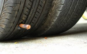 how to patch car tire