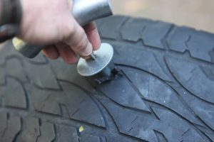 how to patch tire