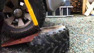 how to unmount a tire
