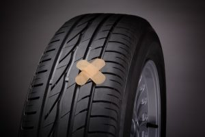 how to use rubber cement on tire