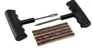 how to use tire plug kit
