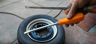 how to vulcanize a tire at home